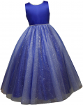 GIRLS FLOWER DRESSES (1242415) R. BLUE